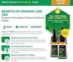 Organic line cbd oil - commander - où trouver - France - site officiel